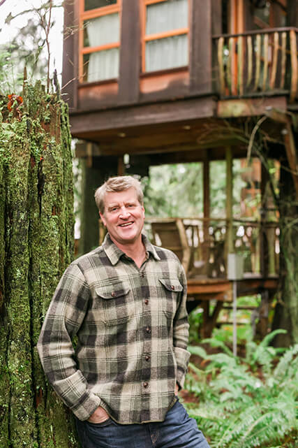 Pete Nelson of Animal Planet's Treehouse Masters.