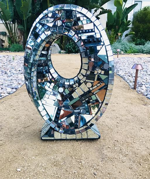 Mirrors of Infinity sculpture by Charles Sherman